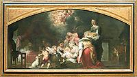 Birth of the Virgin, 1660, murillo