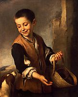 Boy with a Dog, c.1650, murillo