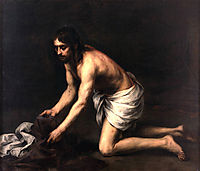 Christ after the Flagellation, 1665, murillo