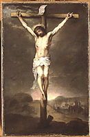 Christ on the Cross, 1665, murillo