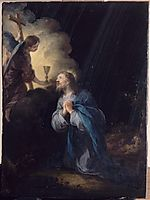Christ In The Garden Of Olives, murillo