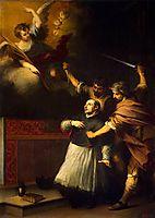 Death of the Inquisitor Pedro de Arbués, 1664, murillo