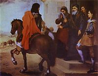 The Departure of the Prodigal Son, 1660, murillo