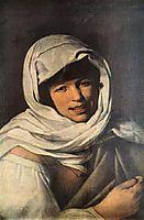 The Girl with a Coin, Girl of Galicia, 1645-1650, murillo