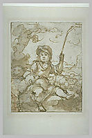 The Good Shepherd Child, murillo