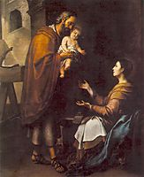 The Holy Family, 1660, murillo