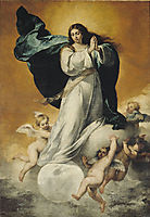 The Immaculate Conception, 1650, murillo