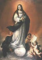 The Immaculate Conception, 1670, murillo
