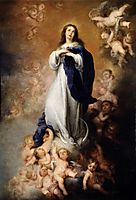 Immaculate Conception of Soult, c.1678, murillo