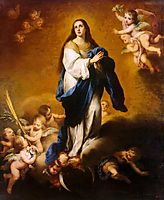 The Immaculate Conception (oil on canvas), murillo