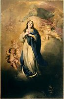 The Immaculate Conception with the Eternal Father, murillo