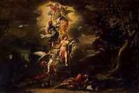 Jacob-s Dream, 1665, murillo