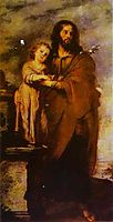Joseph with Infant Chris, 1666, murillo