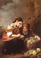 The Little Fruit Seller, 1670-1675, murillo