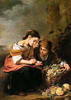 The Little Fruit-Seller, 1675, murillo