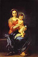 Madonna and Child, c.1650, murillo