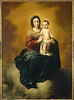 Madonna in the Clouds, 1660, murillo