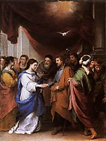 The Marriage of the Virgin, 1670, murillo
