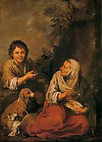 Peasant Woman and a Boy , murillo