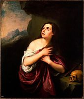 Penitent Magdalene, 1665, murillo