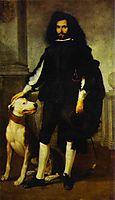 Portrait of Andres de Andrade-i-la Col, 1660, murillo