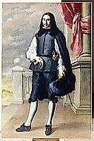 Portrait Of Inigo Melchor Fernández de Velasco, 1659, murillo