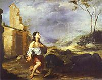The Prodigal Son Feeding Swine, 1660, murillo
