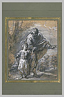 Promenade St. Joseph and The Infant Jesus, murillo