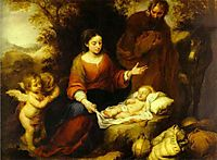The Rest on the Flight into Egypt, murillo