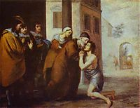 The Return of the Prodigal Son, 1660, murillo