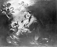 Saint Anthony Of Padua Adore The Child, murillo