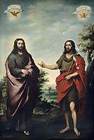 Saint John the Baptist Pointing to Christ, 1655, murillo