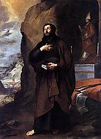 Saint Lesmes, 1655, murillo