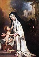 Saint Rose of Lima, murillo