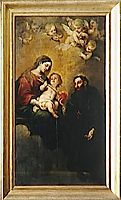 St. Augustine with the Virgin and Child, murillo