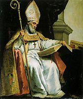 St. Isidore of Seville, 1655, murillo