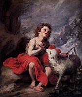 St. John the Baptist as a Child, c.1665, murillo