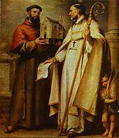St. Leander and St. Bonaventure, murillo