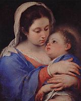 Virgin and Child, murillo