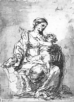 Virgin and Child, 1680, murillo