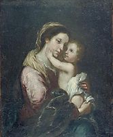 The Virgin And Infant Jesus, murillo