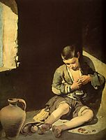 The Young Beggar, 1645, murillo