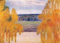 Autumn Song, 1905, musatov