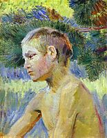 Boy Seated, 1901, musatov