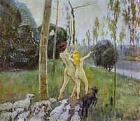 Daphnis and Chloe, 1901, musatov