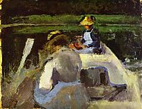 In a Boat, c.1893, musatov