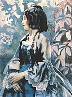 Lady in Blue, 1902, musatov