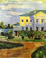Manor House at Zubrilovka, 1903, musatov