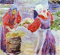 Peasant Women, c.1894, musatov