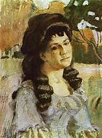 Portrait of a Lady, 1902, musatov